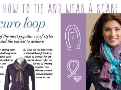 Wrap it up…with a scarf